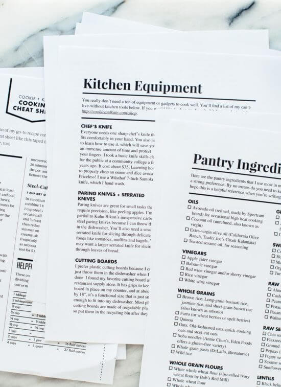 Love Real Food Companion Guide PDF for pre-orders