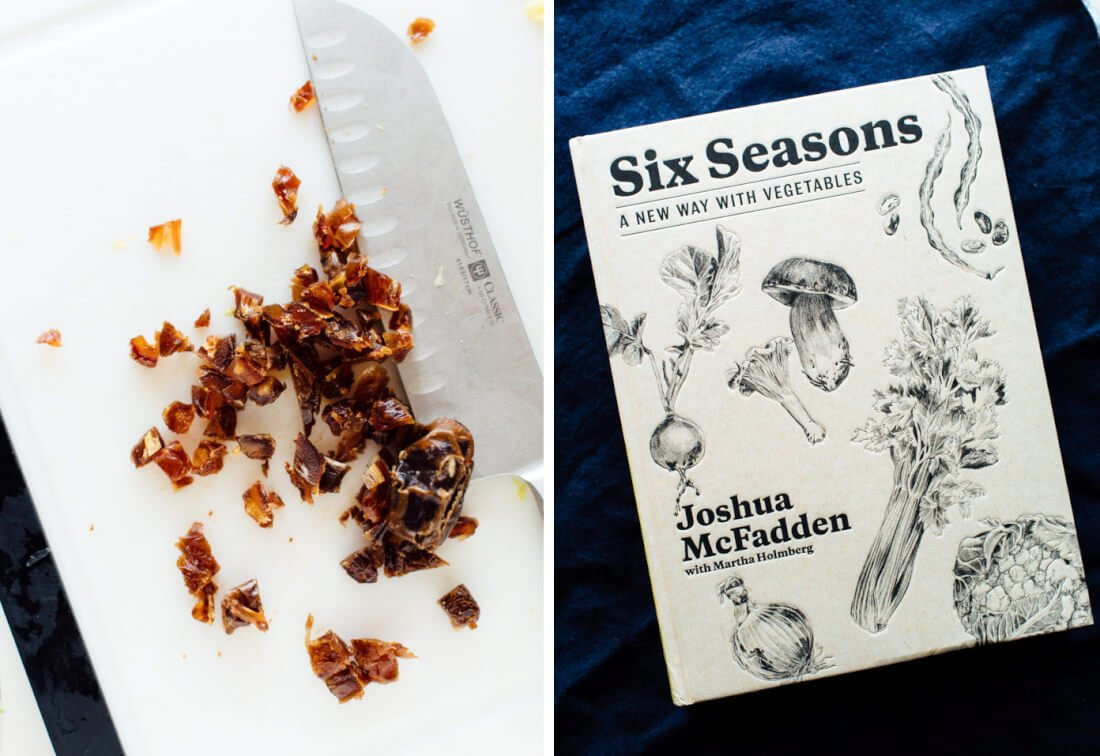 six seasons cookbook by Joshua McFadden