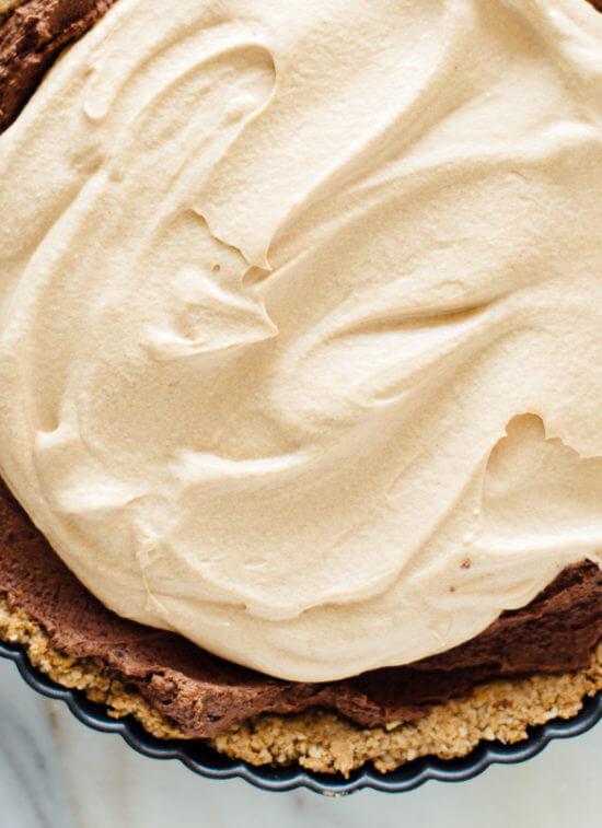 Vegan chocolate peanut butter layers - so good!