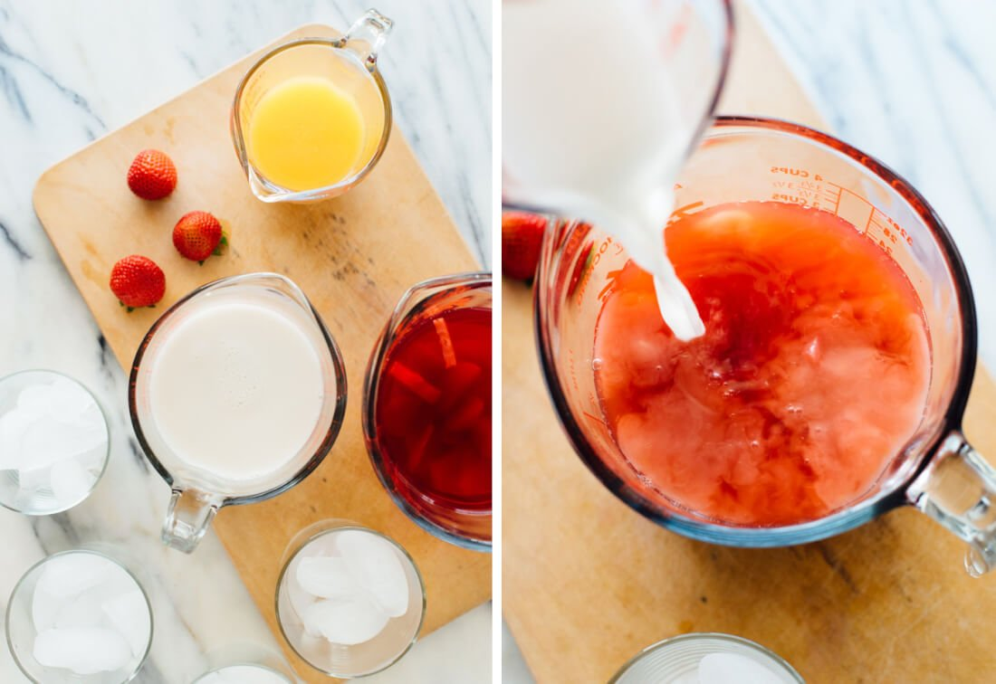 how to make pink drink