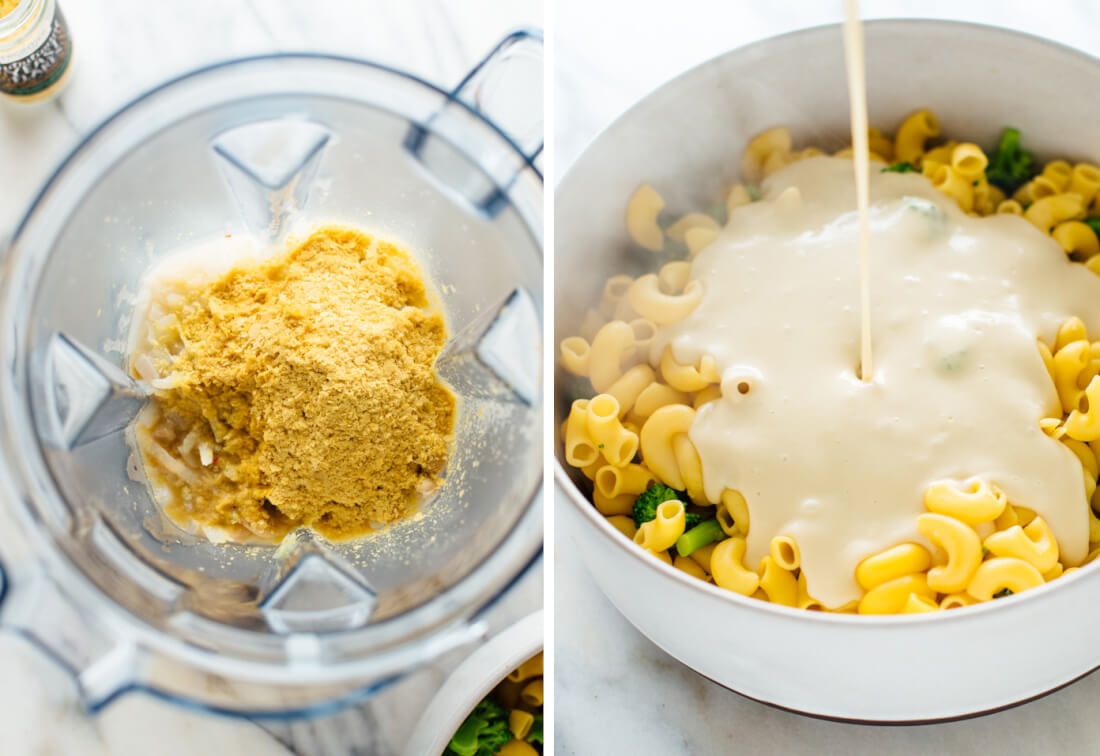 how to make vegan mac and cheese