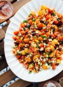 Mediterranean Tomato & Feta Dip