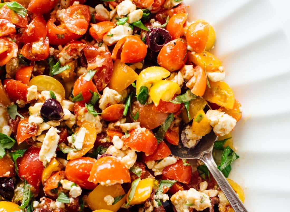 Mediterranean Tomato & Feta Dip - Cookie and Kate