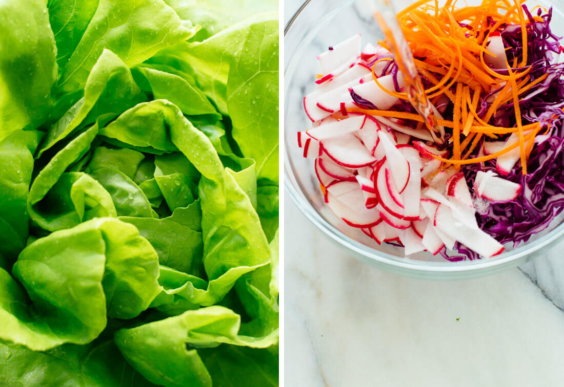 lettuce wrap ingredients
