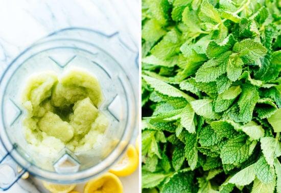 Moroccan mint lemonade