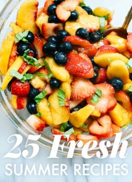 25 Fresh Recipes to Make Before Summer Ends
