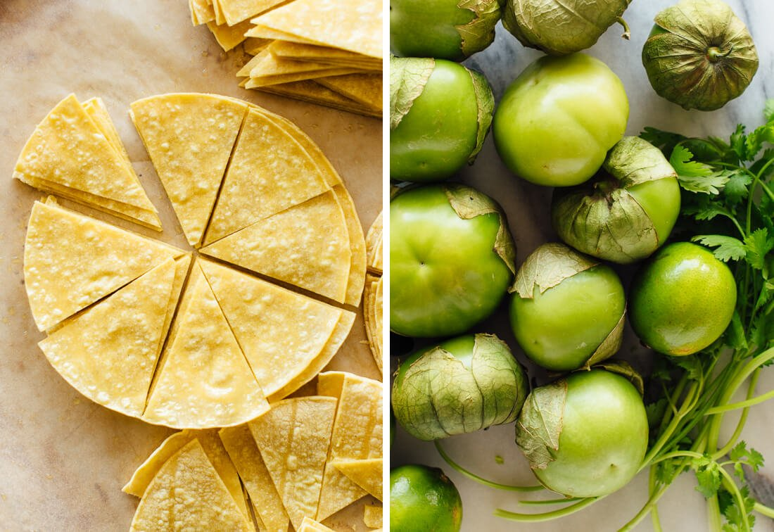 tortillas and tomatillos