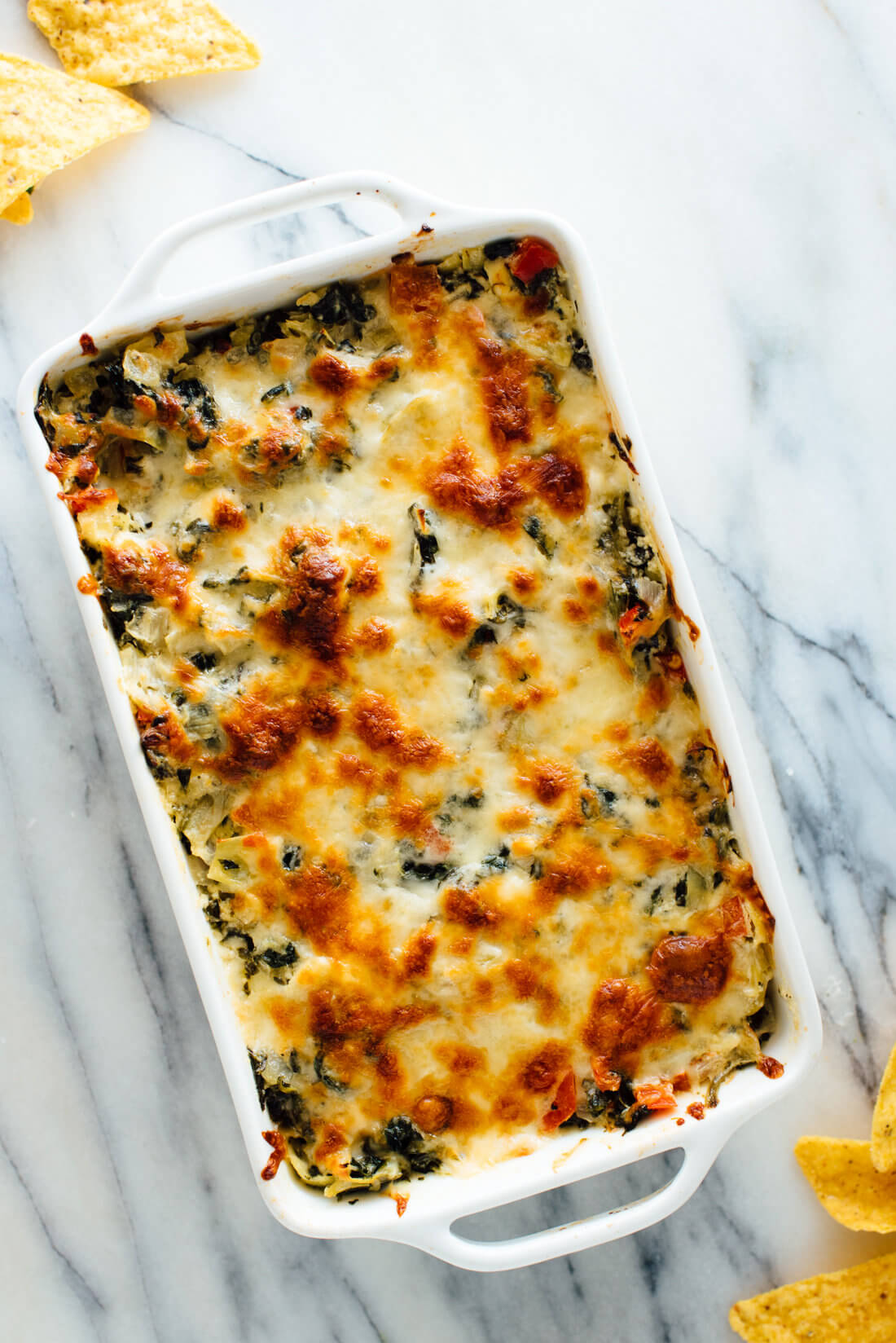 baked spinach artichoke dip baked spinach artichoke dip recipe cookie and kate 11890
