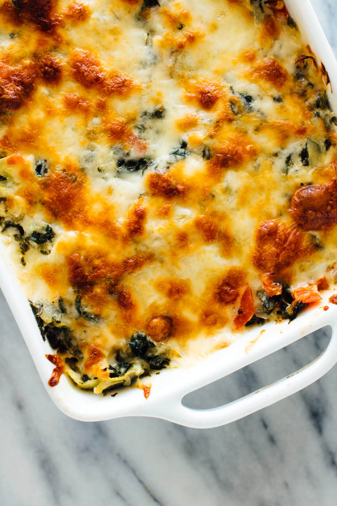 Baked Spinach & Artichoke Dip Recipe - Cookie and Kate