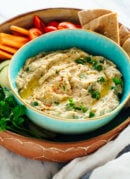 This baba ganoush recipe is the best! It's easy to make, too.