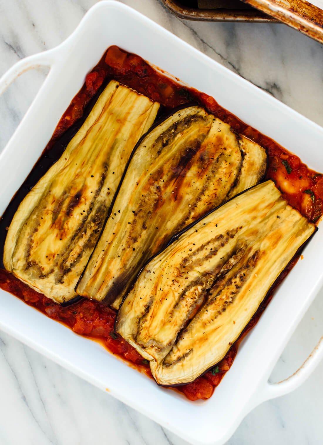 How to make Italian eggplant Parmesan