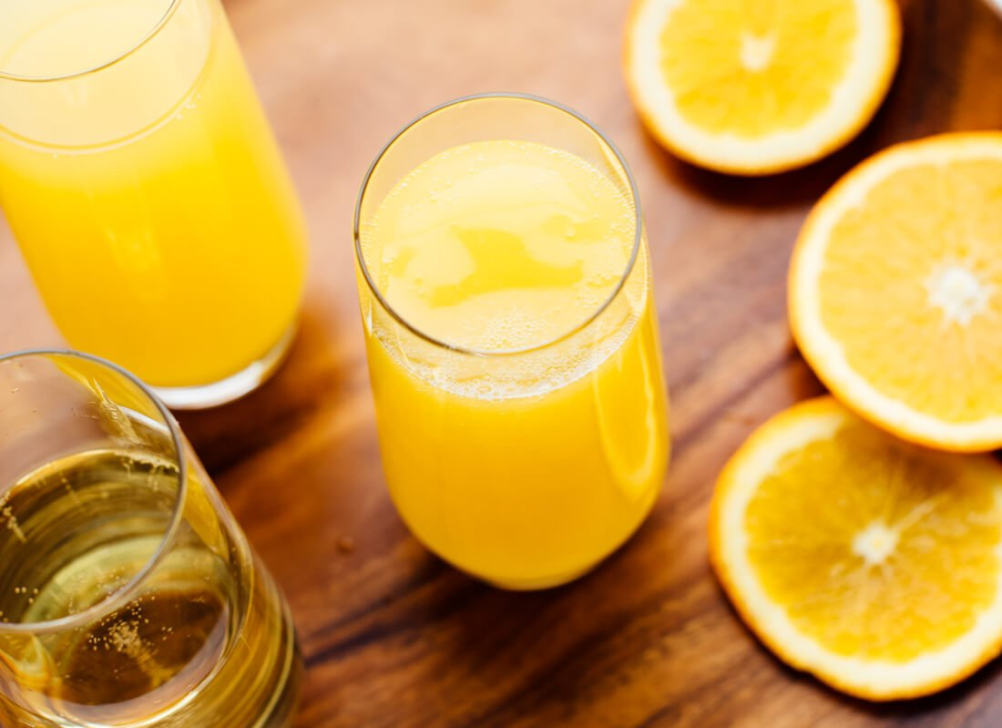 basic orange mimosa recipe