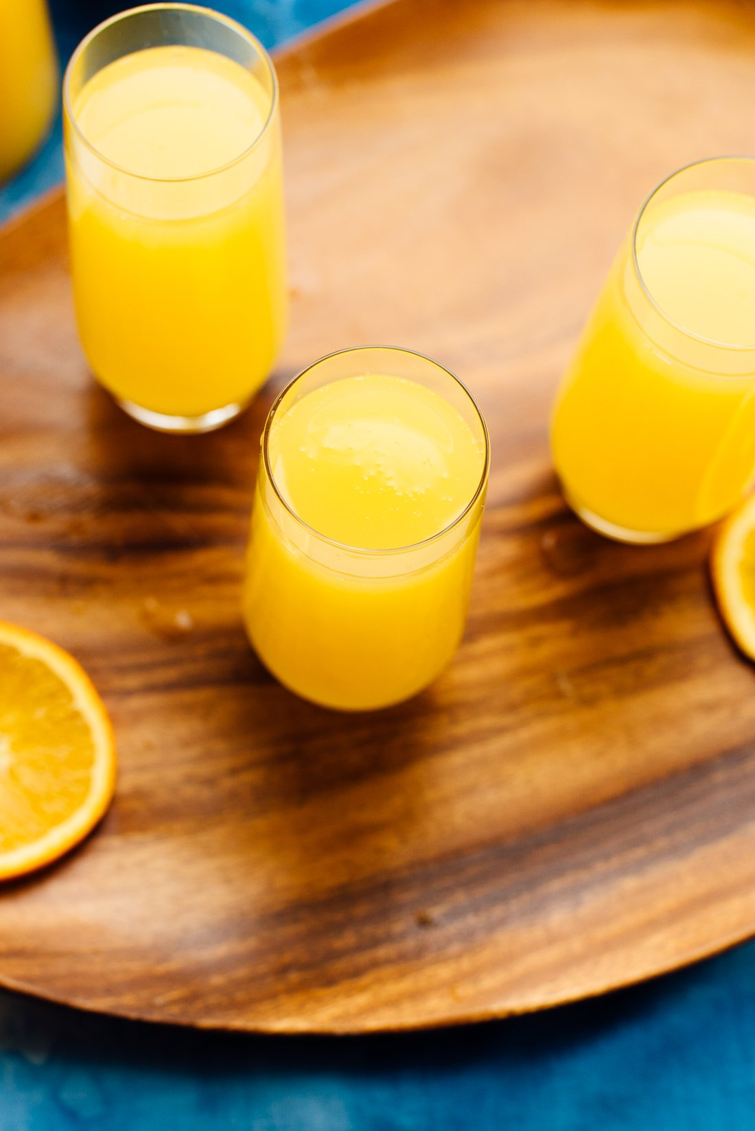 classic mimosas recipe with orange juice