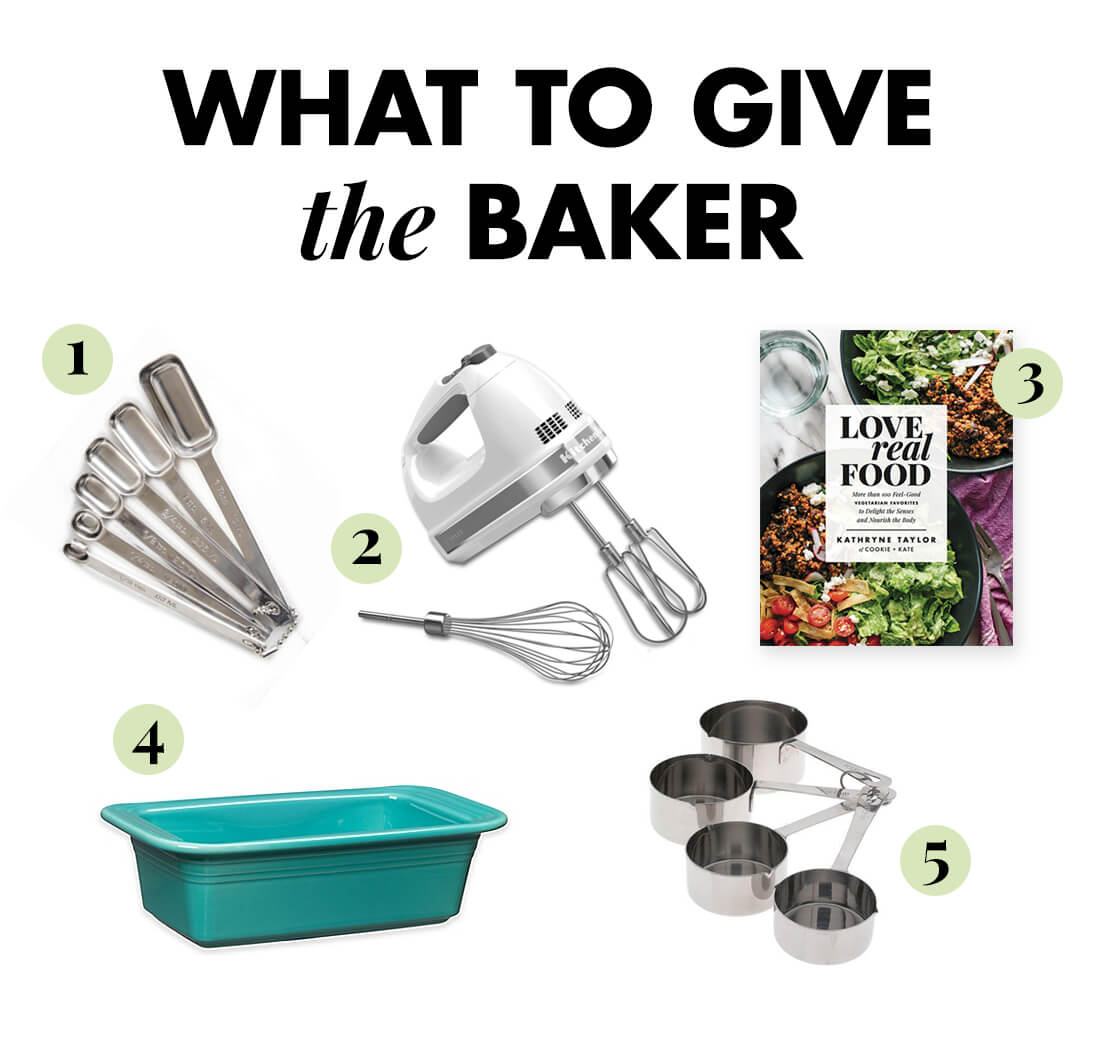 What to give the baker