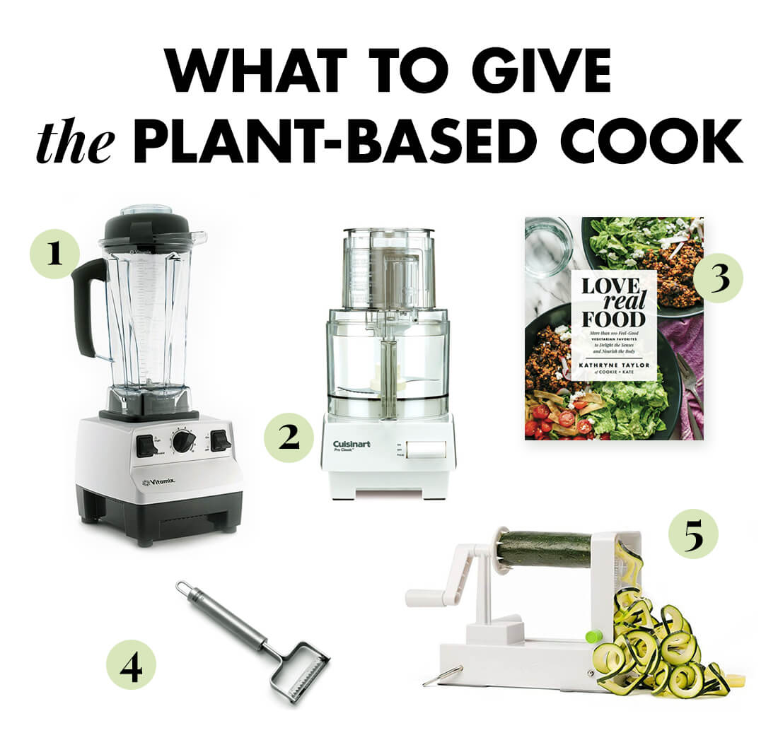 What to give the plant-based cook #giftguide