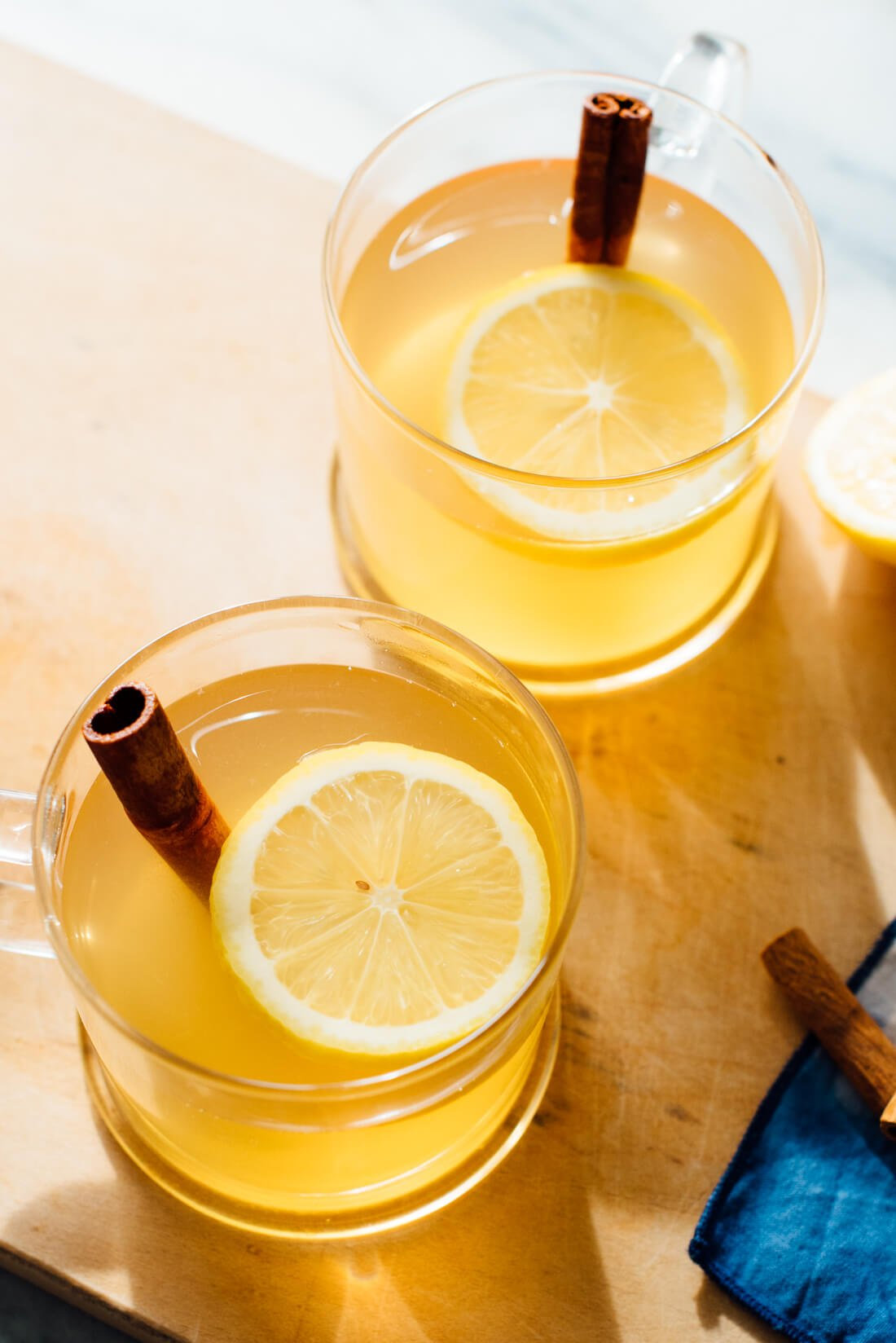 hot toddy recipe close-up
