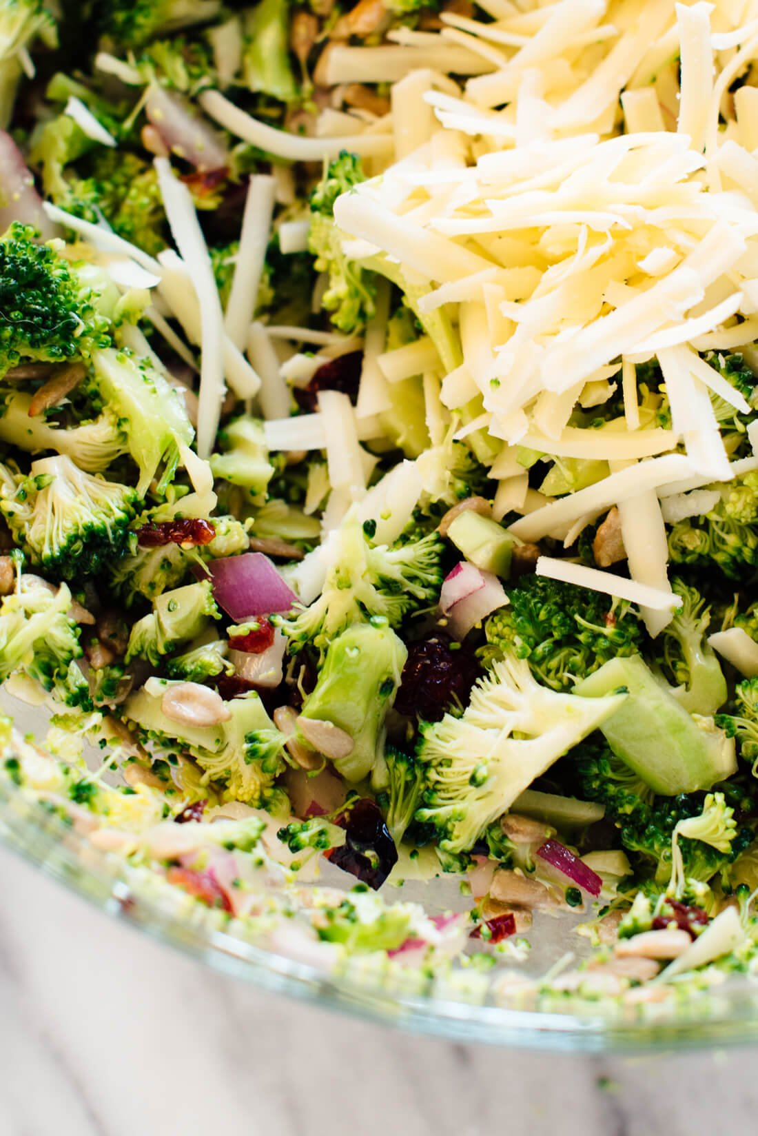 Favorite Broccoli Salad Recipe Cookie And Kate