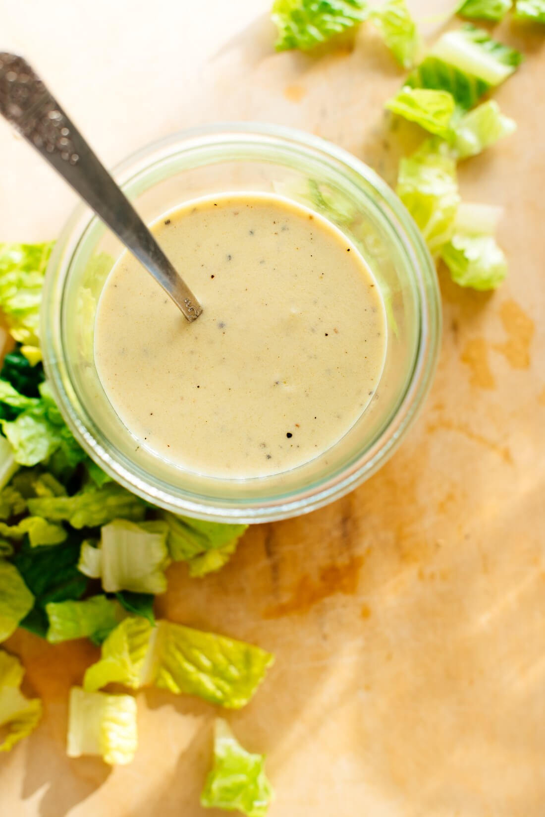 healthy creamy honey mustard salad dressing