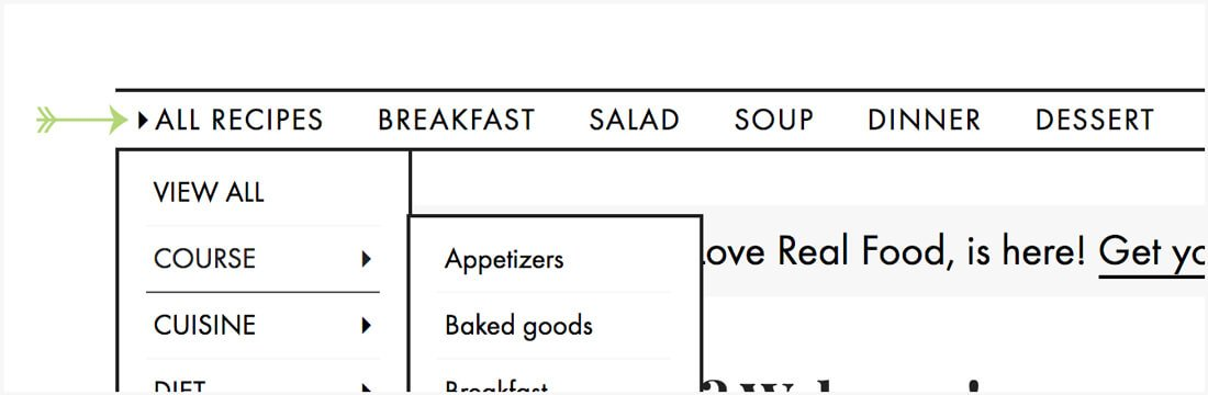 How to Browse Recipes