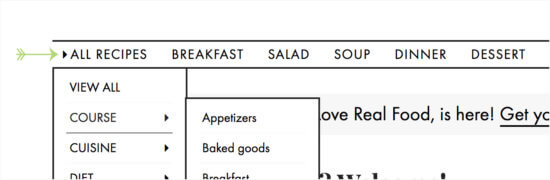 How to Browse Recipes on cookieandkate.com