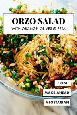 orange orzo salad recipe