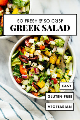 chopped Greek salad recipe for pinterest