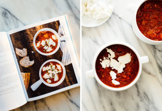how to make tomato goat cheese dip