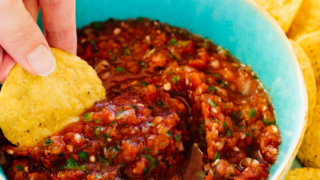 Best Red Salsa Recipe Ready In 10 Minutes Cookie And Kate
