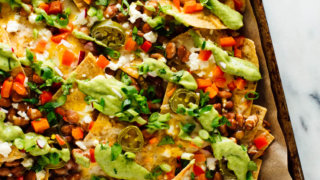 Loaded Veggie Nachos Recipe Cookie And Kate