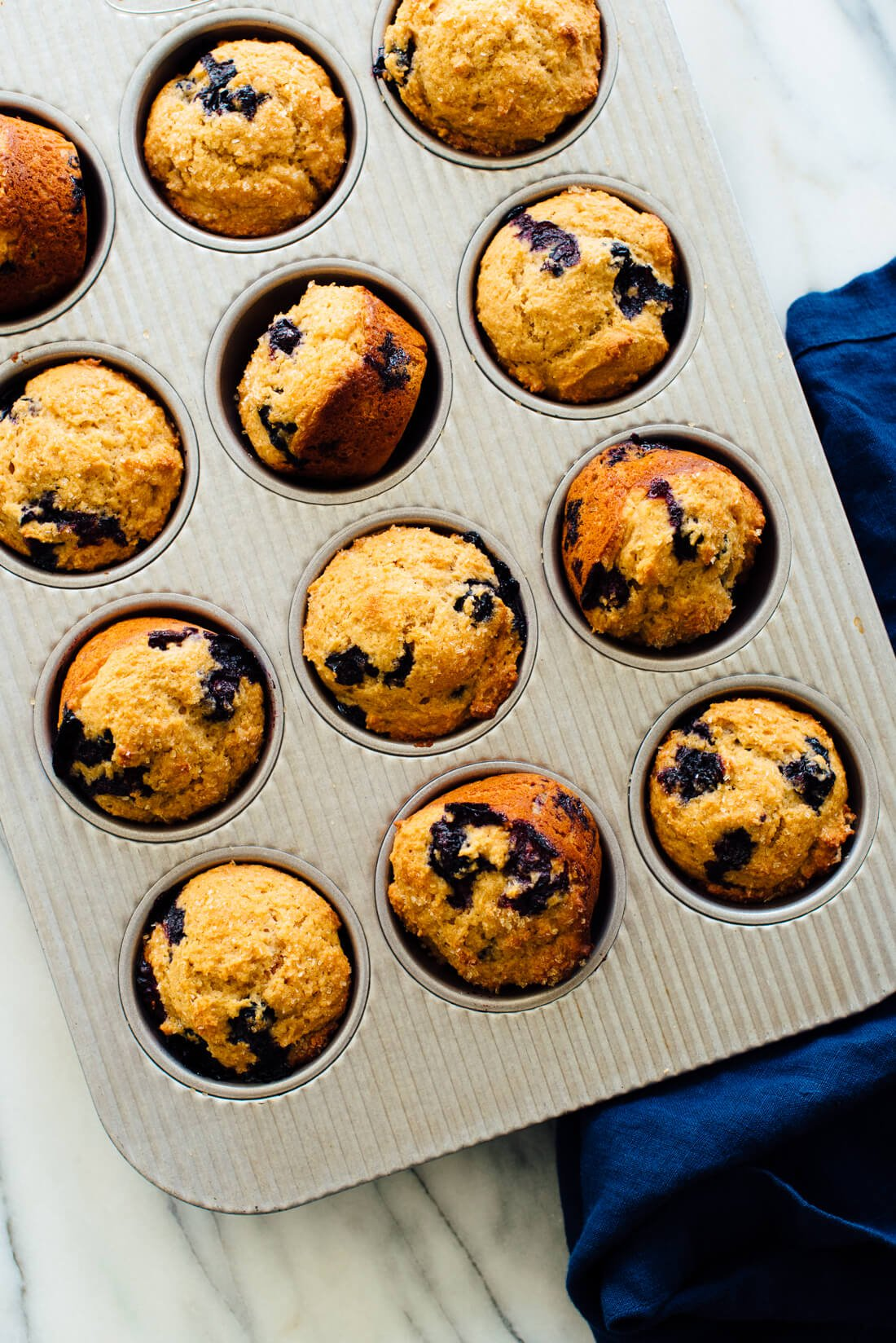 Healthy Blueberry Muffins Recipe Cookie And Kate