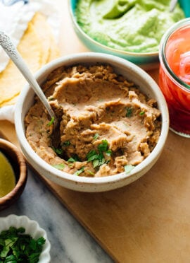 quick refried beans recipe