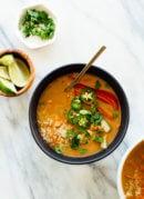 Thai peanut rice veggie bowls