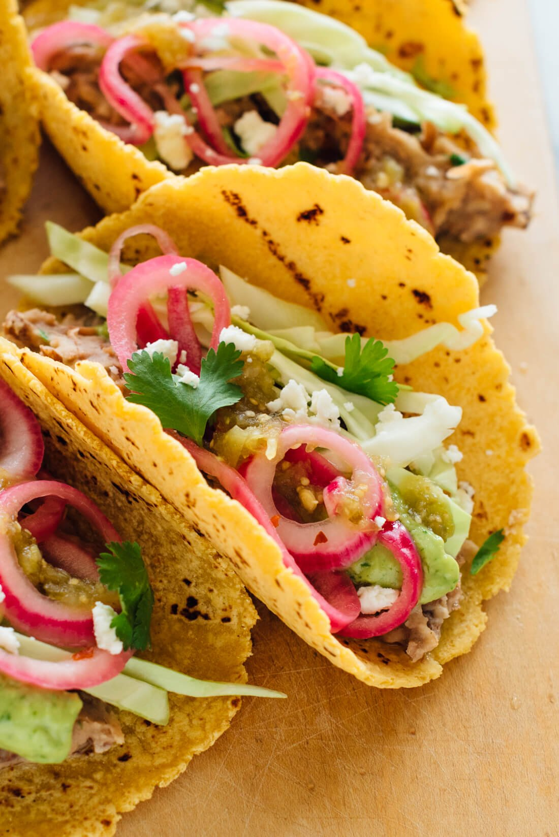 vegetarian bean tacos recipe