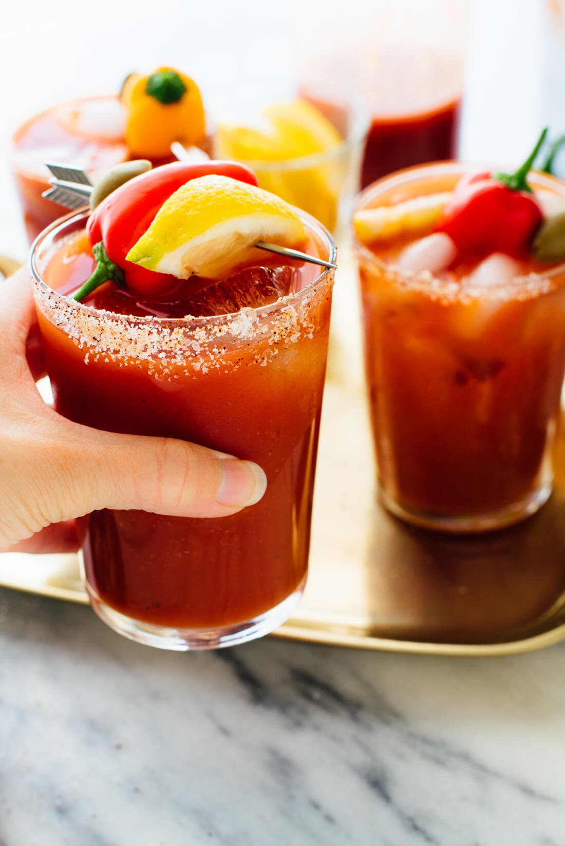 Bloody Marys caseros