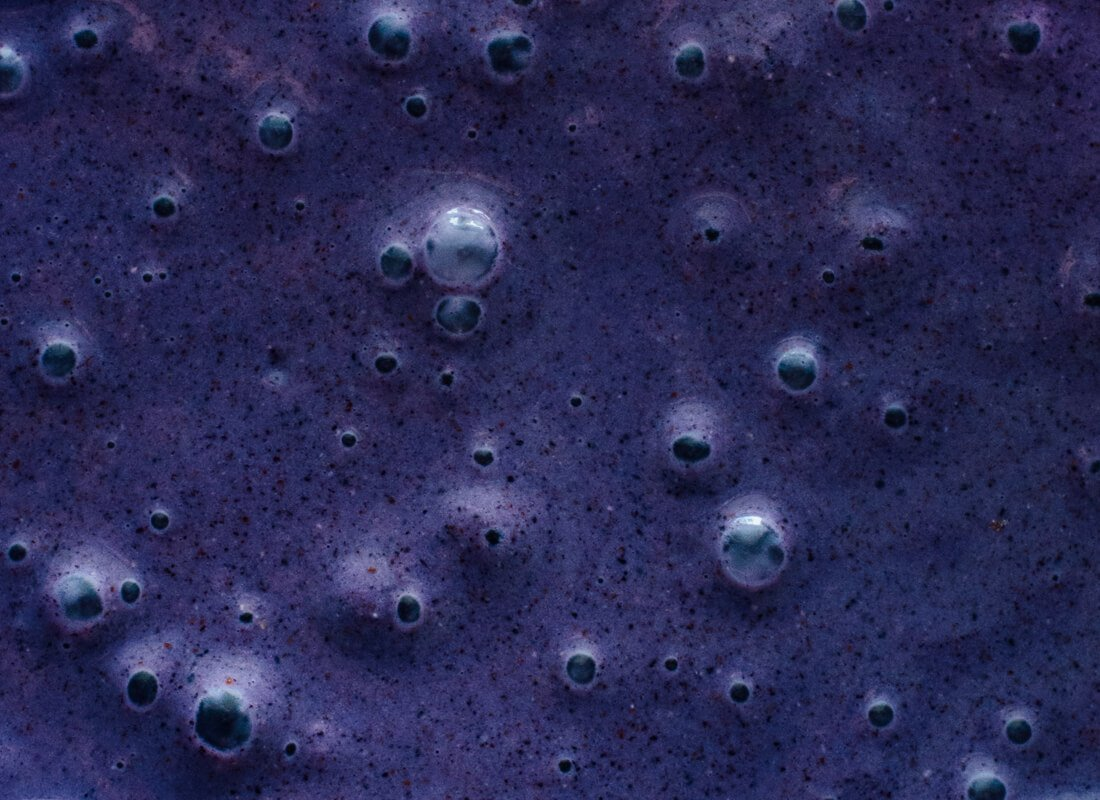 blueberry smoothie close-up