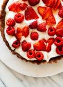 No-Bake Greek Yogurt Tart