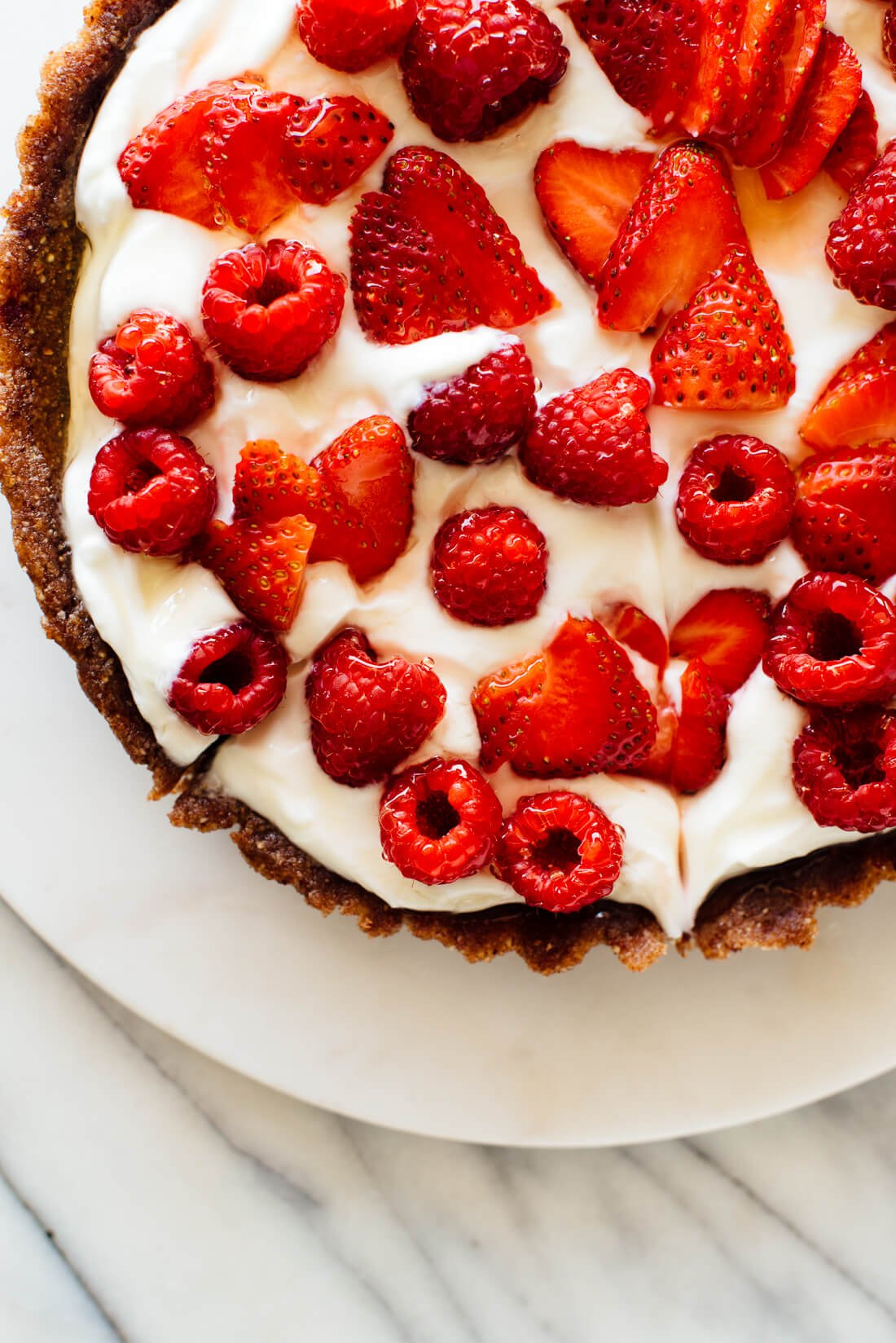 no-bake greek yogurt tart recipe