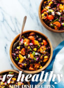 17 easy and healthy side dish recipes