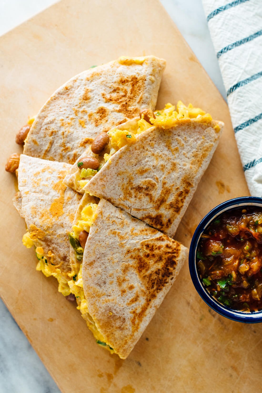 best breakfast quesadillas recipe