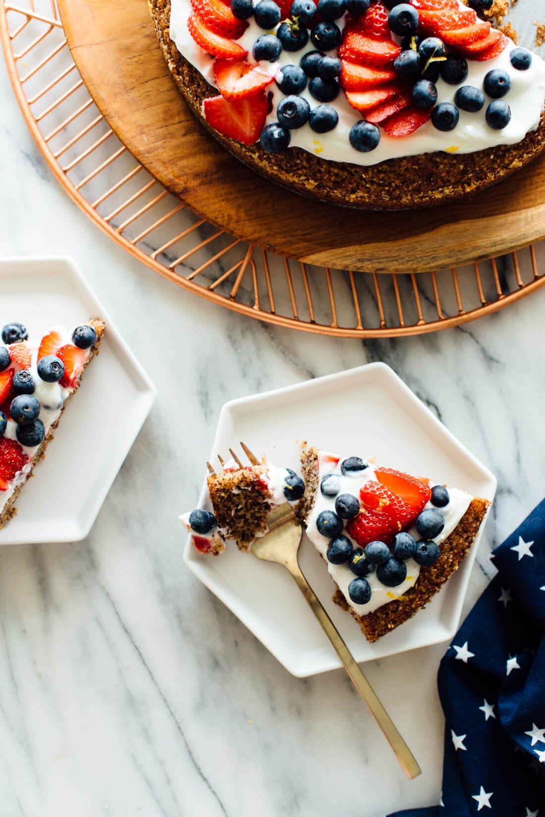 gluten-free honey almond cake recipe