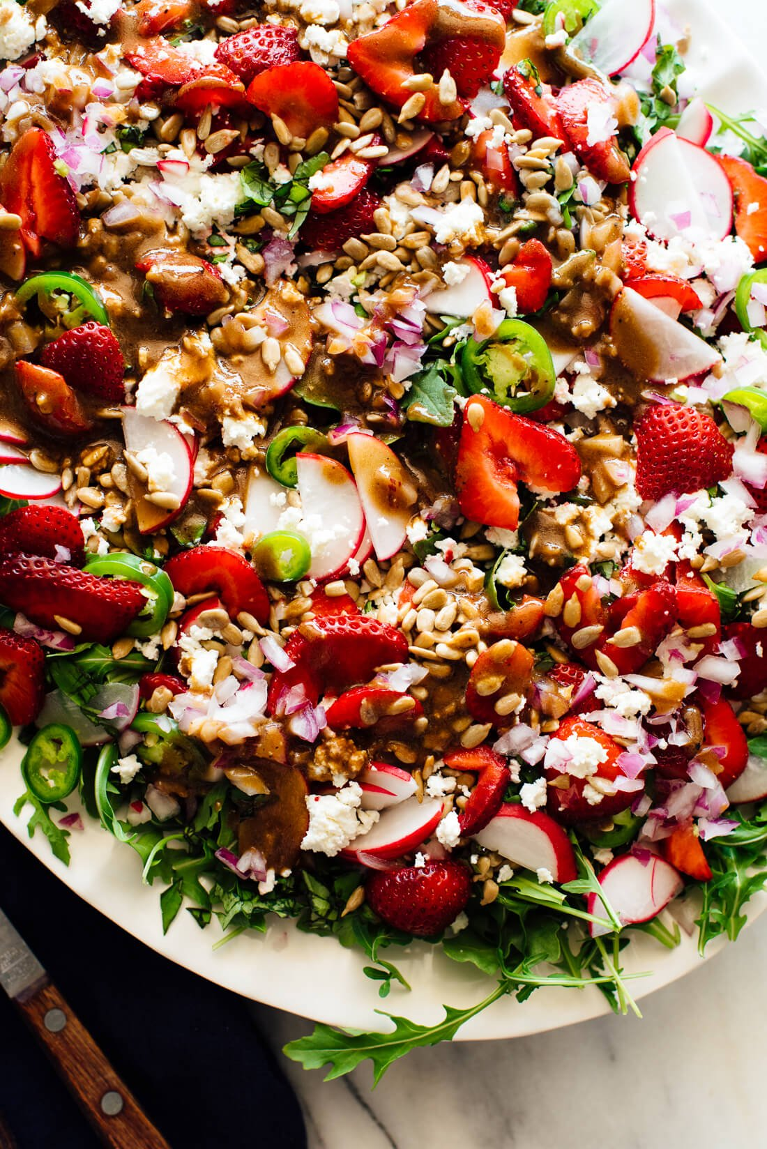 loaded strawberry salad recipe-9