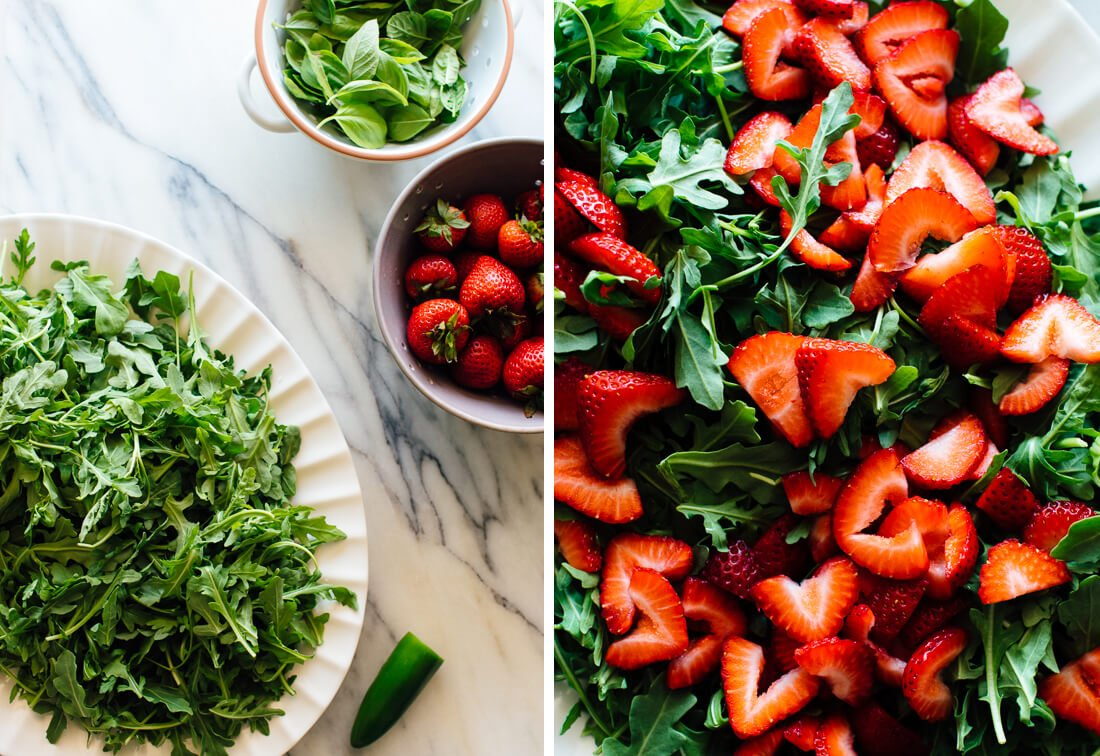 strawberry salad ingredients