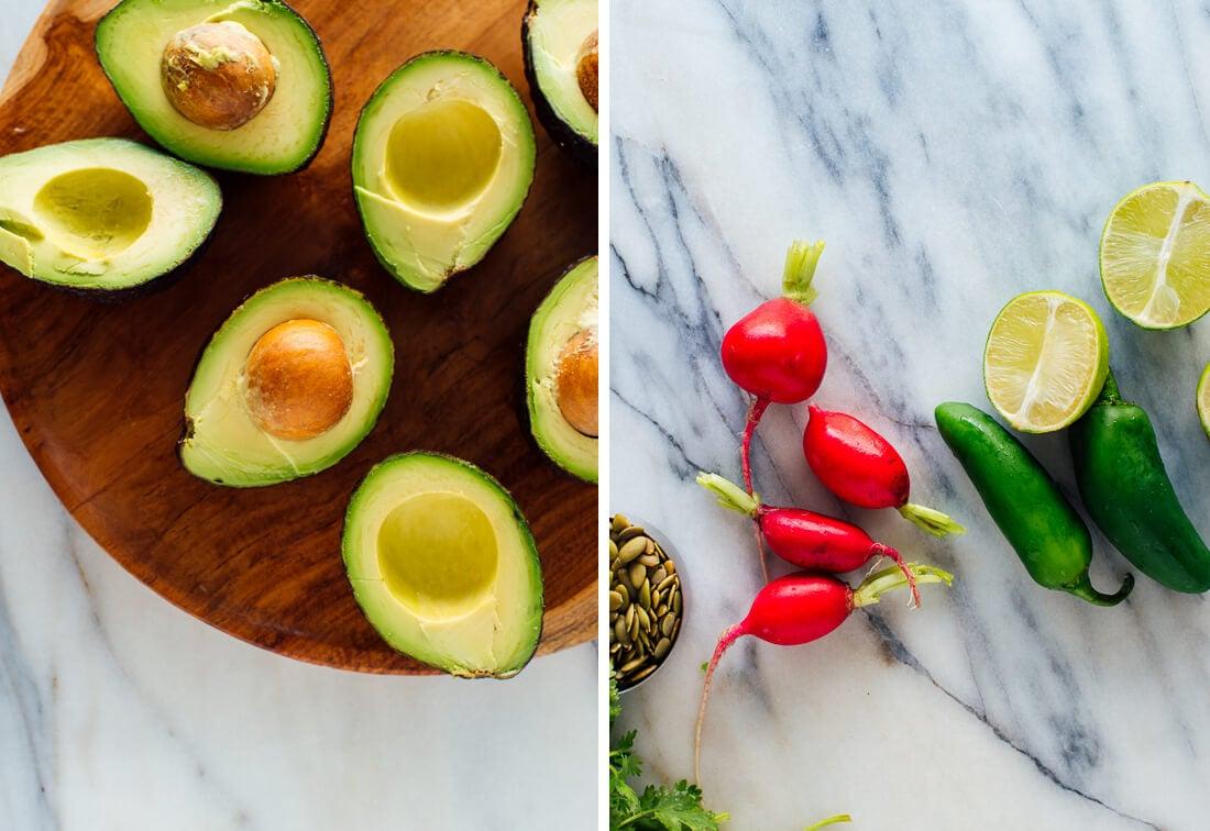 avocado salad ingredients