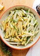Crisp Apple & Kohlrabi Salad