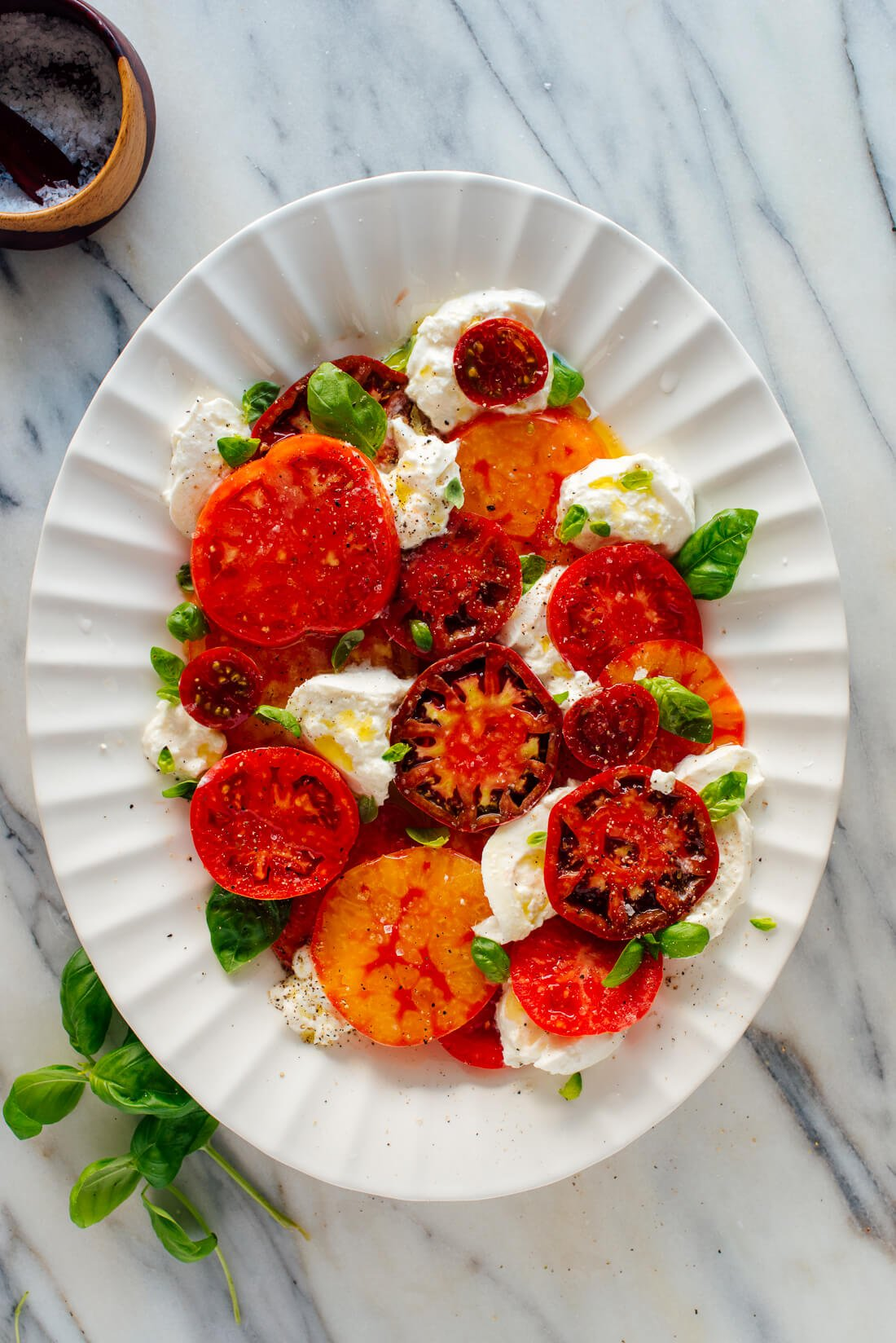heirloom caprese salad recipe