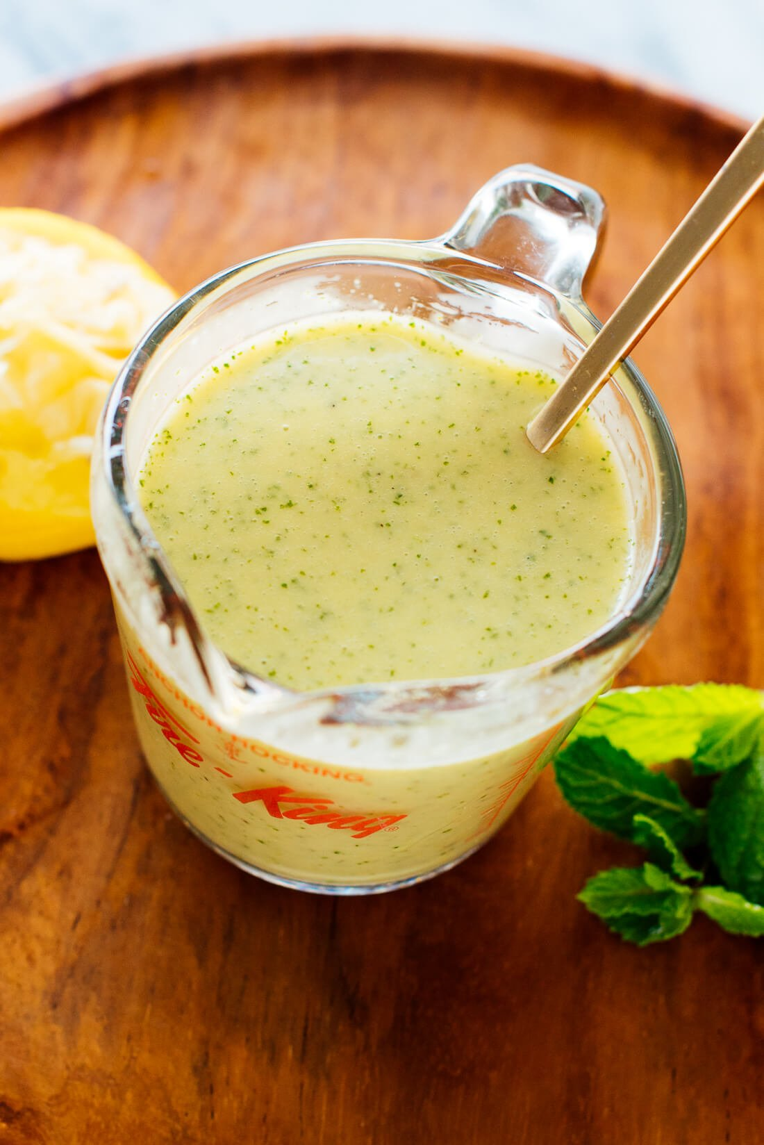mint dressing recipe