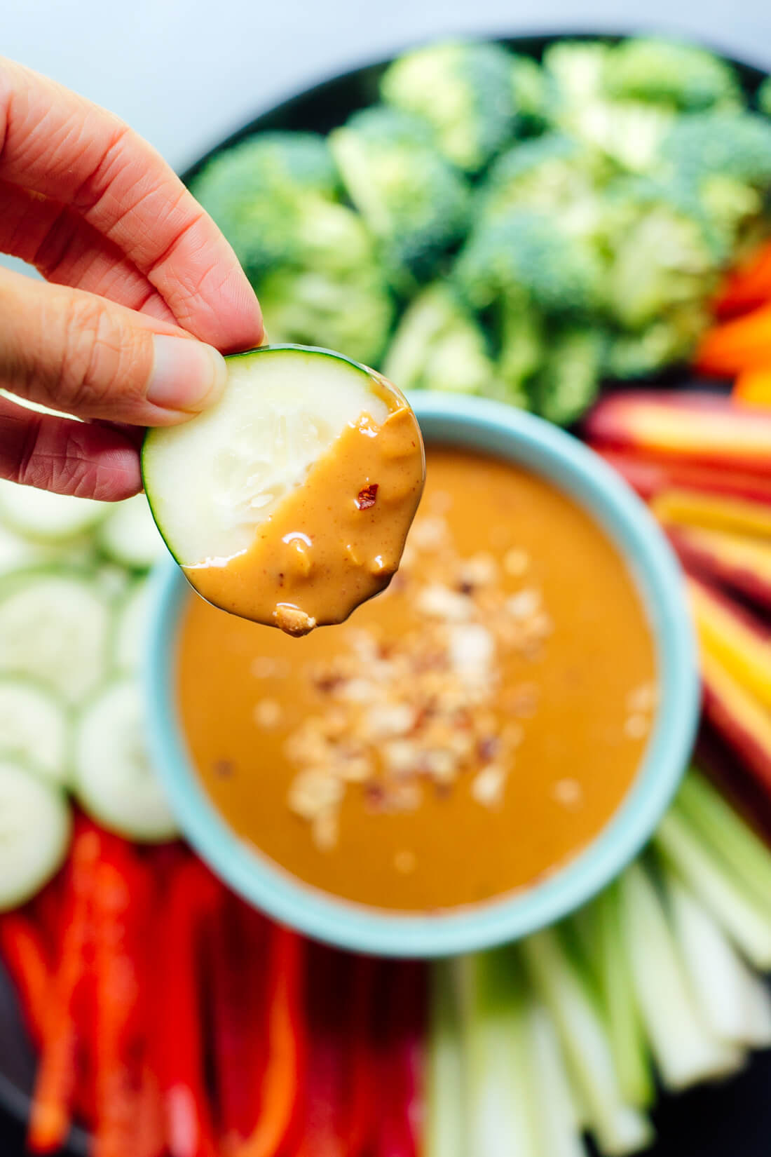 Basic peanut sauce recipe, for dipping or drizzling!
