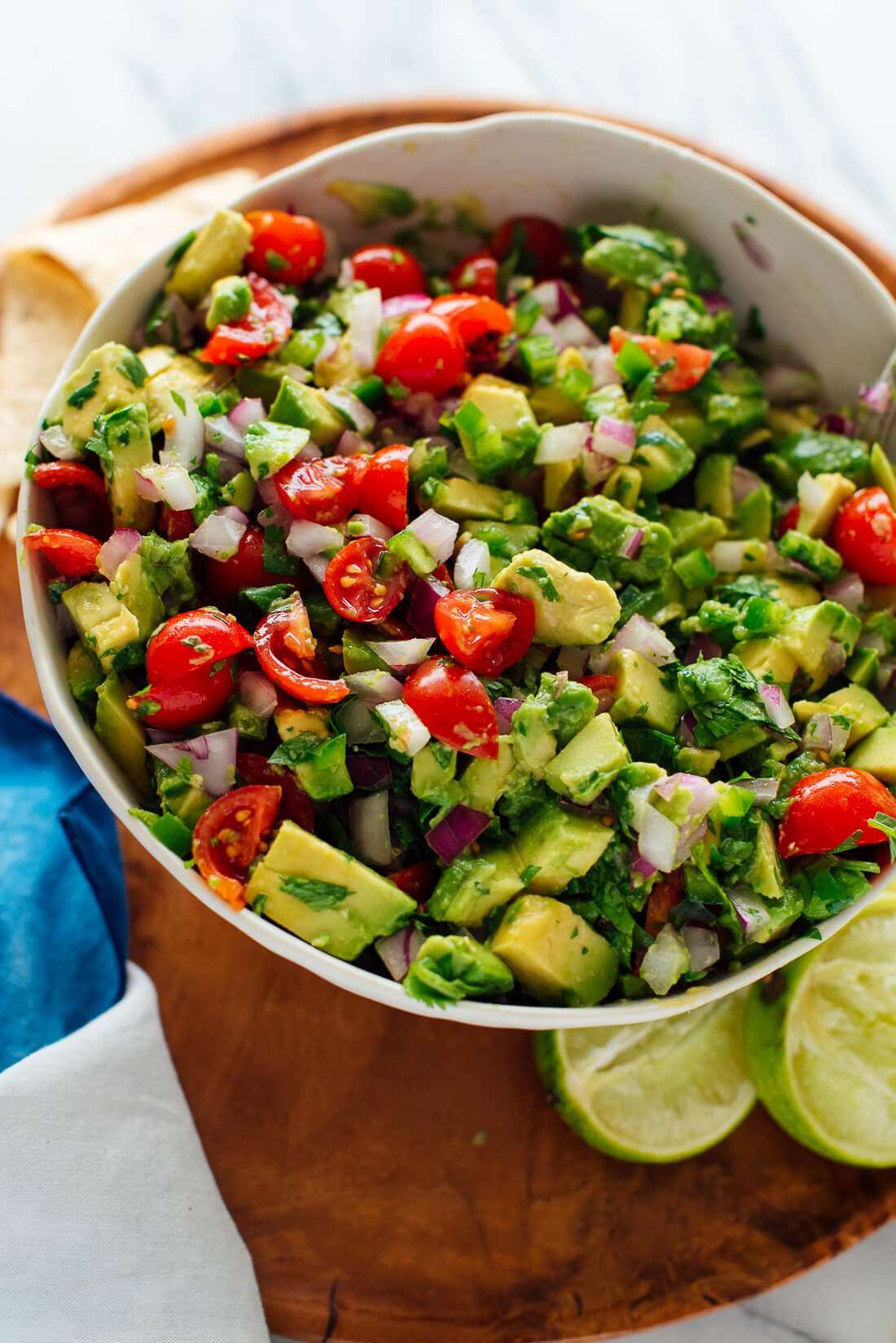 simple avocado salsa recipe