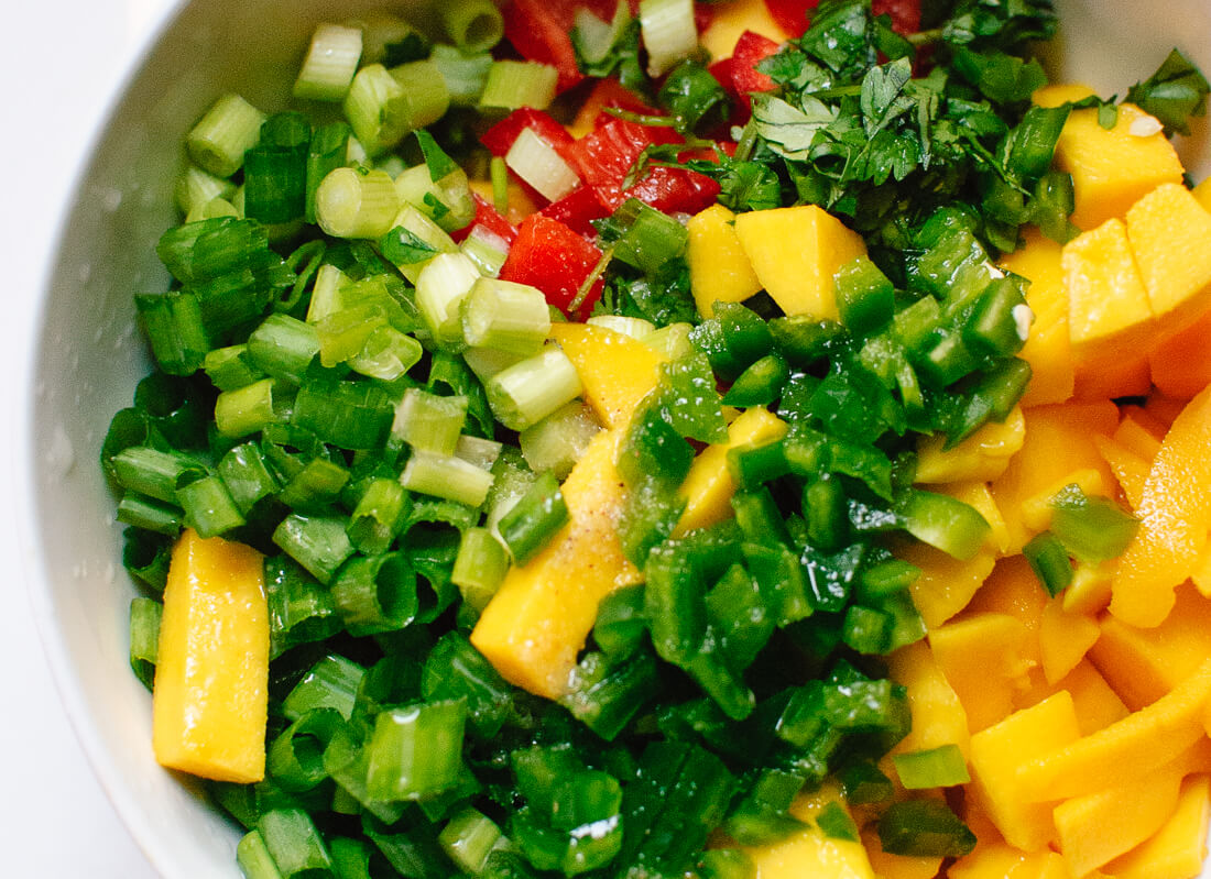 thai mango salsa ingredients