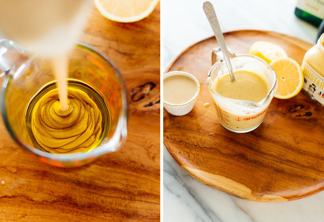 how to make tahini dressing